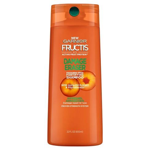 Garnier Fructis Paraben Free Damage Eraser Fortifying Shampoo - 22 fl oz - image 1 of 3