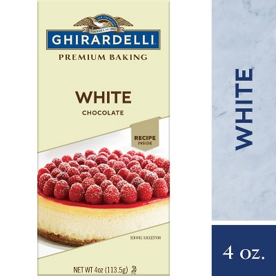Baking Chips & Chocolate: Ghirardelli White Chocolate Baking Bar