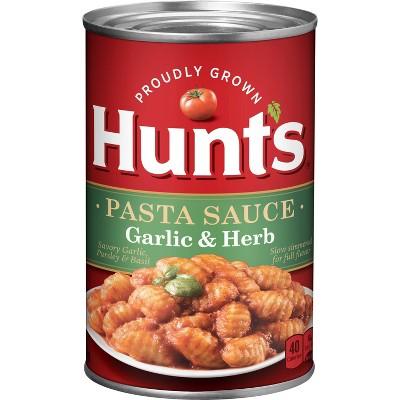 Hunt's Classic Italian Garlic & Herb Spaghetti Sauce 26oz
