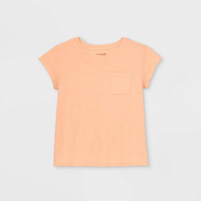 Girls' Boxy Pocket T-Shirt - Cat & Jack™