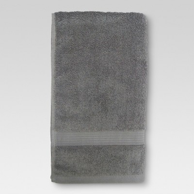 Performance Hand Towel Radiant Gray - Threshold™
