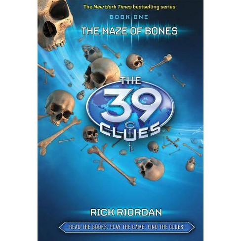 The 39 Clues #1: The Maze of Bones - Library Edition - by  Rick Riordan (Hardcover) - image 1 of 1