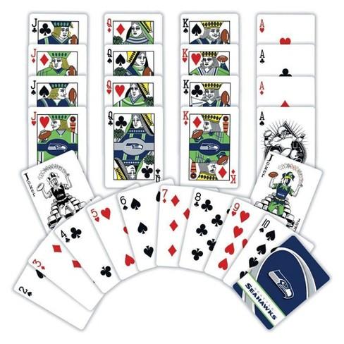 MLB Seattle Seahawks Playing Card Game 2pk - image 1 of 2