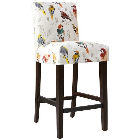 Hendrix Slipcover Bar Stool Multi Bird Print - Cloth & Co. - image 1 of 6