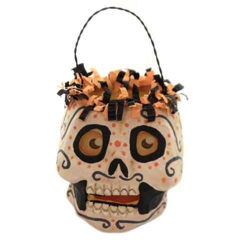 "Jorge De Rojas 3.75"" Orly Skelley Bucket Halloween Glow  -  Decorative Figurines - image 1 of 4"
