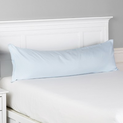 """Lakeside Cooling Body Pillow 16"""" x 52"""" Case with Zipper - 1000 Thread Count"""