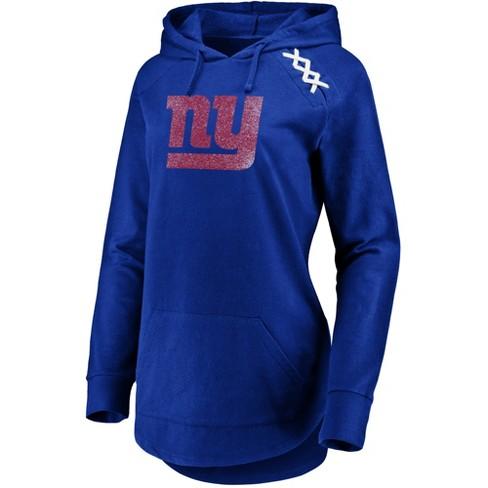 NFL New York Giants Women's Leveraging Momentum Lightweight Hoodie - image 1 of 2