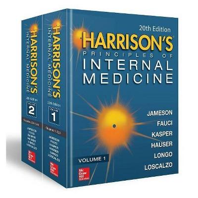 Harrison's Principles of Internal Medicine, Twentieth Edition (Vol.1 & Vol.2) - 20th Edition (Hardcover)
