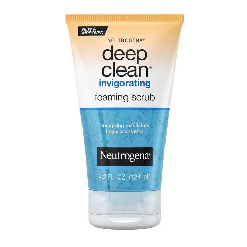 Neutrogena Deep Clean Invigorating Foaming Face Scrub - 4.2 fl oz - image 1 of 4