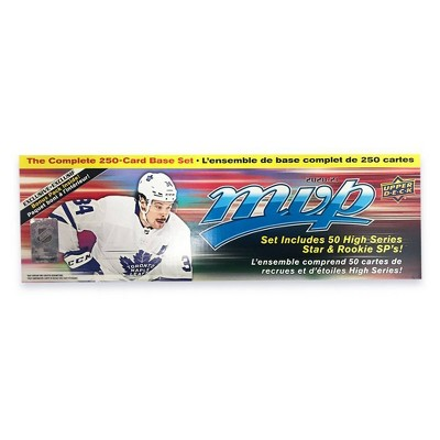 2021 NHL MVP Hockey Trading Card Box Set