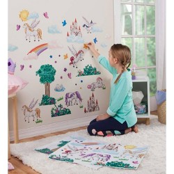 Children's Decorative Wall Stickers for Kids Rooms - HearthSong
