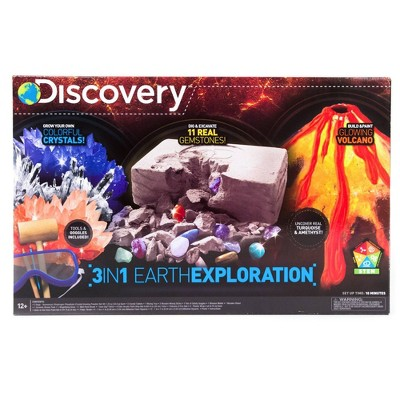 Discovery Kids 3-in-1 Earth Exploration Activity Kit