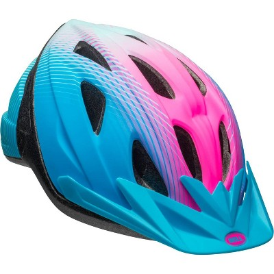 Bell Banter Traveler Youth Bike Helmet - Blue/Pink