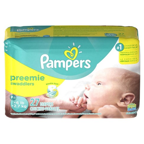 Pampers Swaddlers Diapers Jumbo Pack (Select Size) - image 1 of 4