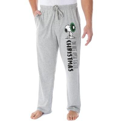 Peanuts Adult Snoopy Christmas Character Loungewear Sleep Pajama Pants