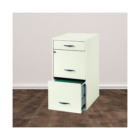 Lineal 3 Drawer Steel File Cabinet In