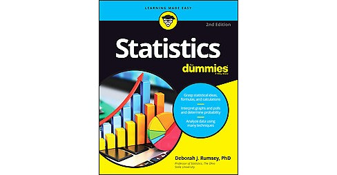 Statistics for Dummies (Paperback) (Ph.D. Deborah J. Rumsey) - image 1 of 1