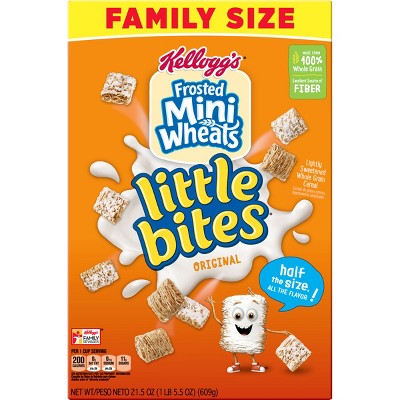 Breakfast Cereal: Frosted Mini Wheats Little Bites