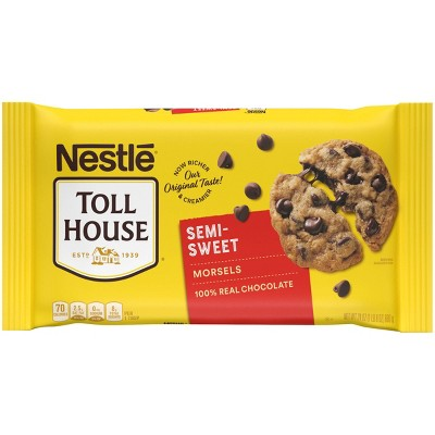 Nestle Toll House Gluten Free Semi-Sweet Chocolate Morsels - 24oz