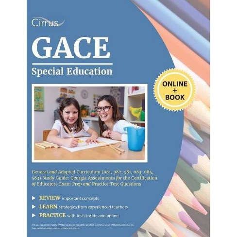 GACE Special Education General and Adapted Curriculum (081, 082, 581, 083, 084, 583) Study Guide - image 1 of 1