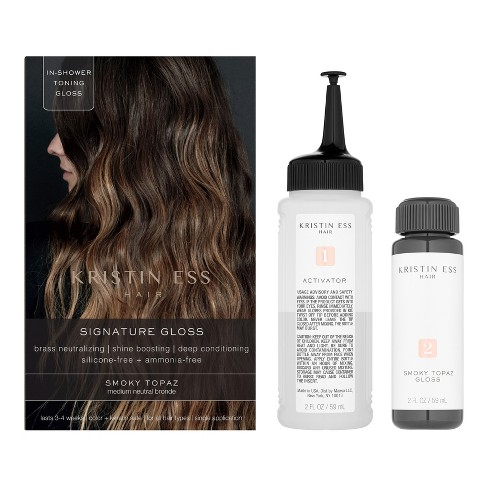 Kristin Ess Hair Signature Gloss Temporary Hair Color - Smoky Topaz ...