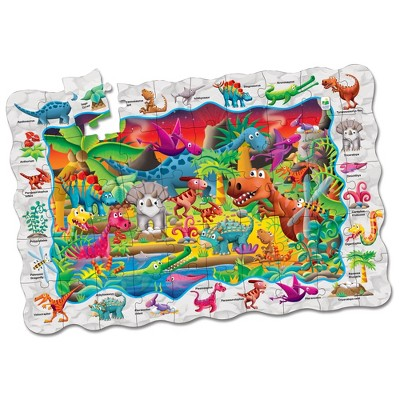 The Learning Journey Puzzle Doubles Find It! Dinosaurs 50 pcs