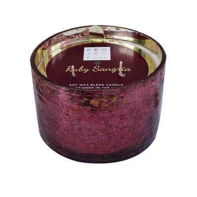 16.9oz Coffee Table Jar 3-Wick Candle Ruby Sangria - Chesapeake Bay Candle