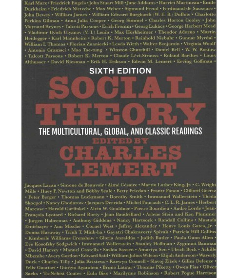 Social Theory : The Multicultural, Global, and Classic Readings (Paperback) - image 1 of 1