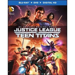 Justice League vs Teen Titans [Blu-ray/DVD] [2 Discs]