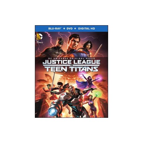 Justice League vs Teen Titans [Blu-ray/DVD] [2 Discs] - image 1 of 1