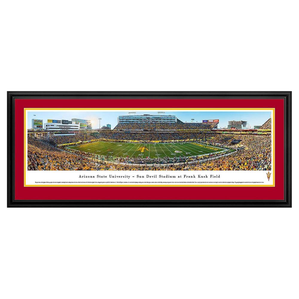 NCAAArizona Wildcats BlakewayFootball Stadium View Framed Wall Art, Arizona Wildcats - Asu Stadium