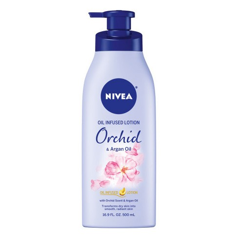 NIVEA Oil Infused Lotion Orchid & Argan Oil 16.9 fl oz - image 1 of 3