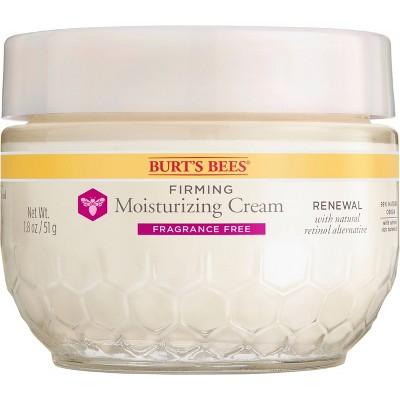 Burt's Bees Renewal Firming Moisturizing Cream - Unscented - 1.8oz