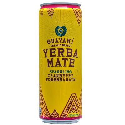 Guayaki Yerba Mate Sparkling Cranberry Pomegranate - 12 fl oz Can