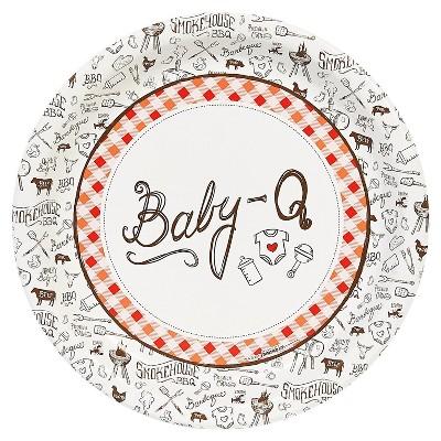 Baby-Q Dinner Plate