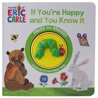 Eric Carle One Button Squishy Sound Book (Board Book)