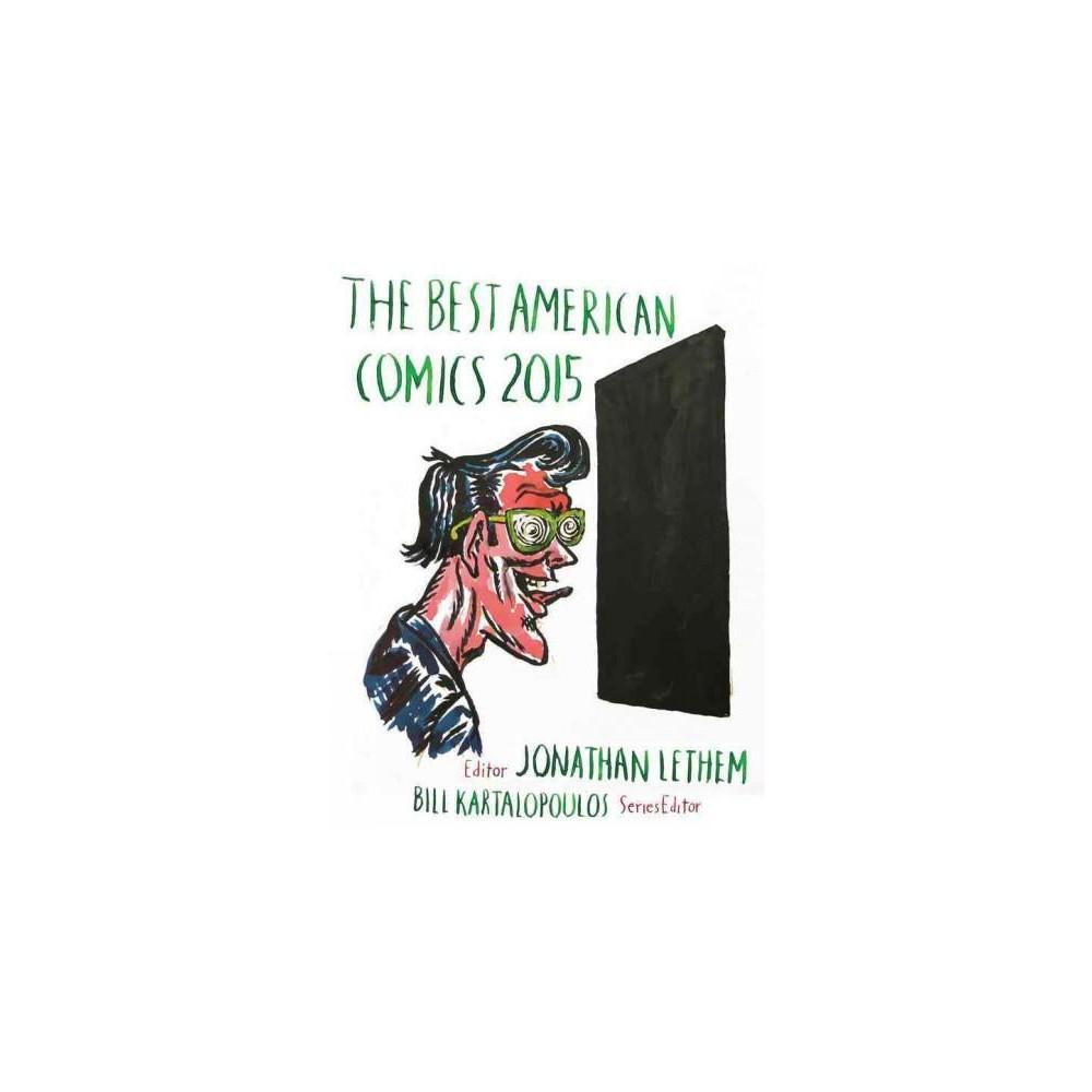 Best American Comics 2015 (Hardcover)