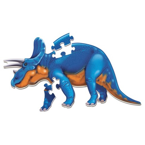 Learning Resources Jumbo Dinosaur Floor Puzzle -Triceratops 20pc - image 1 of 4