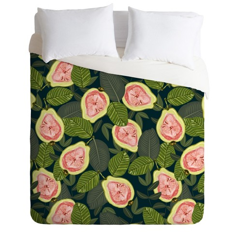 83 Oranges Guava Fruit Duvet Set - Deny Designs - image 1 of 2