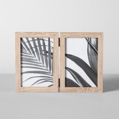 561c8f9de99e Thin Hinged Frame Holds 2 Photos - Made By Design™