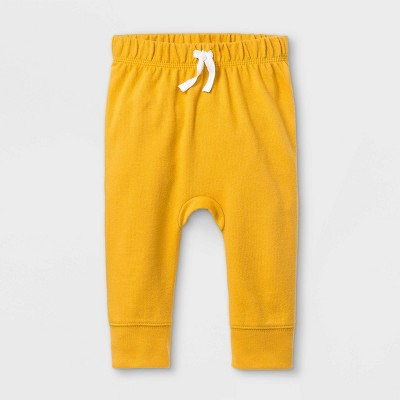 Baby Boys' Jogger Pull-On Pants - Cat & Jack™ Mustard