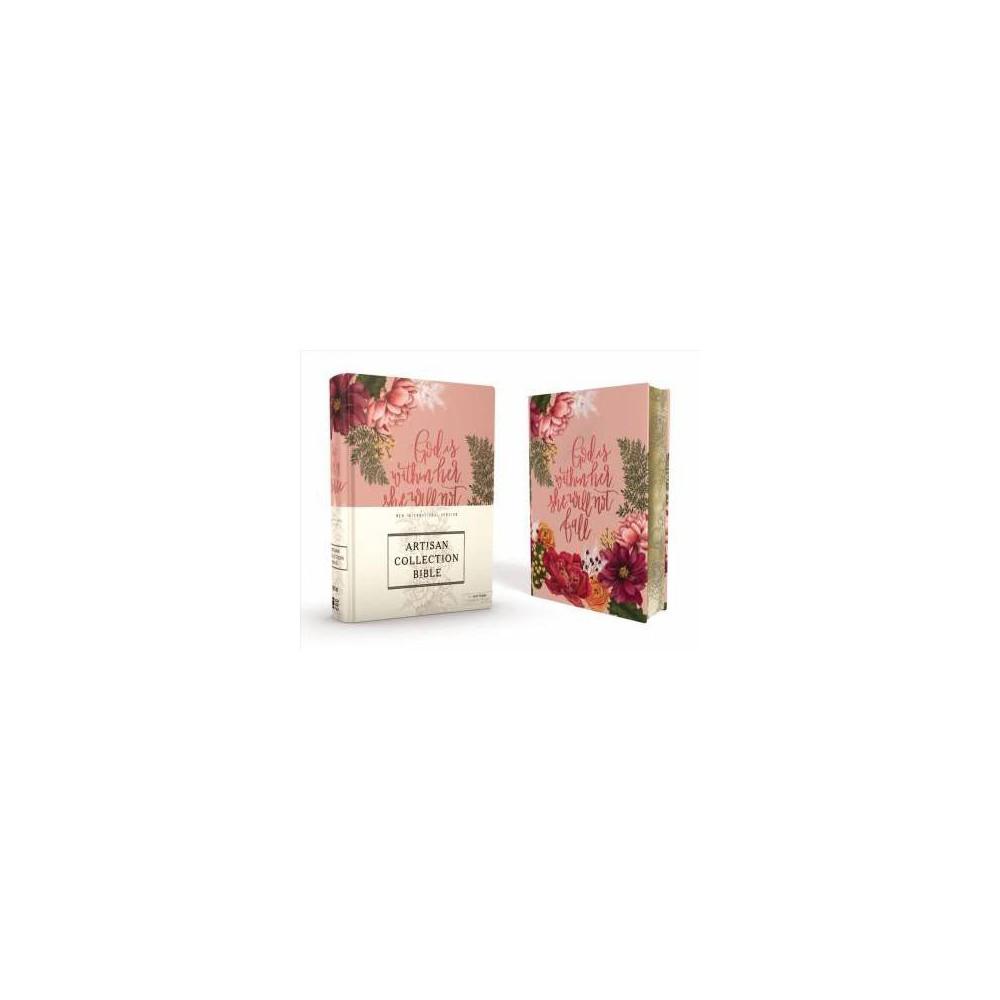NIV Journal The Word Bible : New International Version, Artisan Collection Bible, Pink Floral, Designed