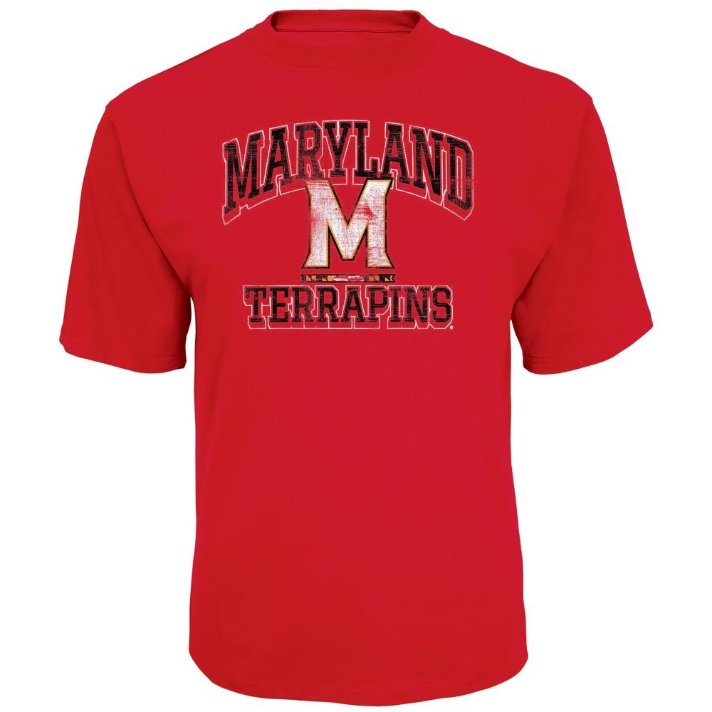 NCAA Men's Short Sleeve TC T-Shirt Maryland Terrapins - XL, Multicolored
