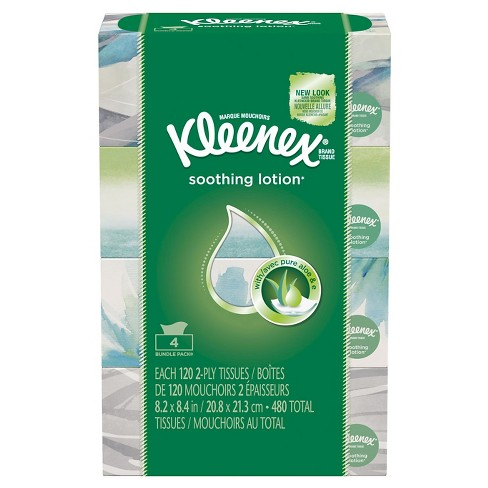 Kleenex Soothing Lotion Facial Tissue - 480ct - image 1 of 5