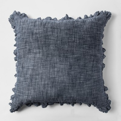 Chambray Euro Pillow Blue - Threshold™
