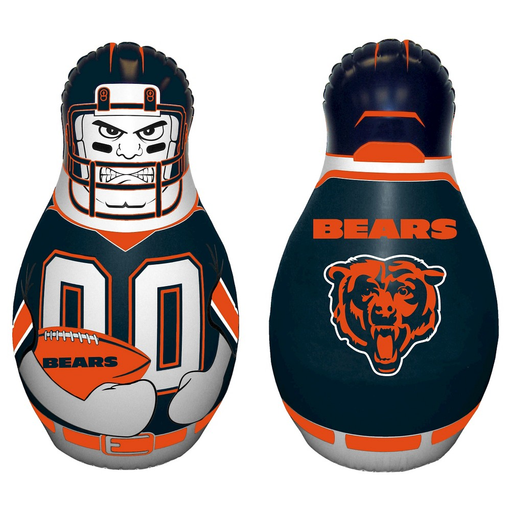 NFL Chicago Bears Tackle Buddy Inflatable Punching Bag, Multi-Colored