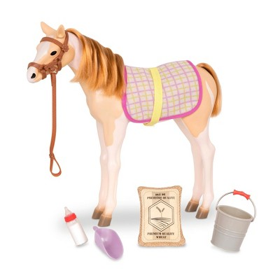 """Our Generation Spotted Mustang Horse Foal with Accessories for 18"""" Dolls"""