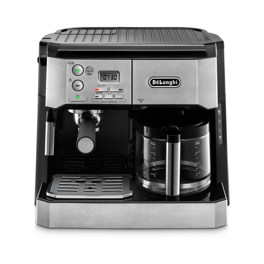 De'Longhi Combination Espresso/Coffee Machine – Stainless Steel (Silver) BCO430 53159823