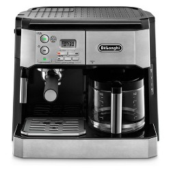 De'Longhi Combination Espresso/Coffee Machine - Stainless Steel BCO430