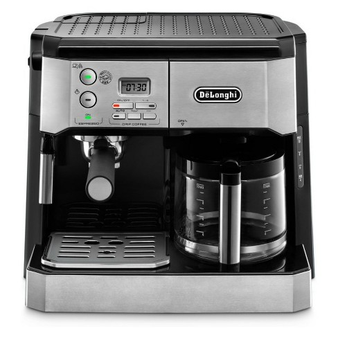 De'Longhi Combination Espresso/Coffee Machine - Stainless Steel BCO430 - image 1 of 4